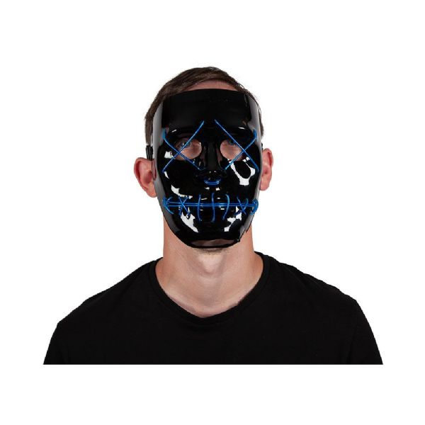 E.L Light Up Mask - BLUE